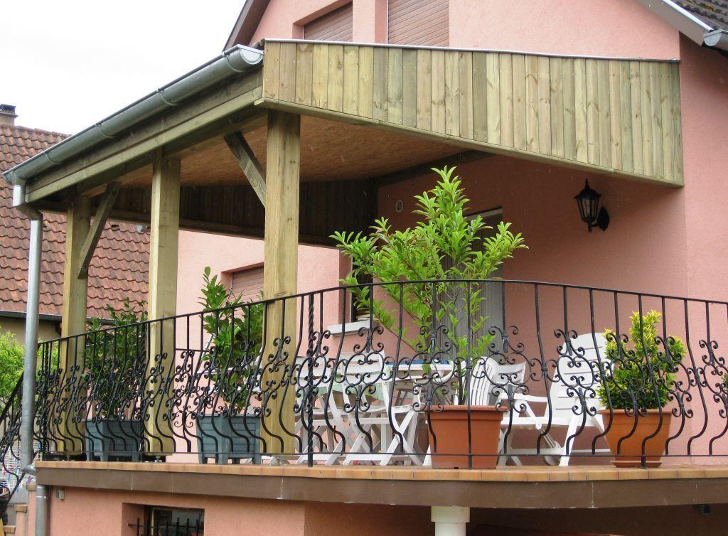 et appentis, posé ou en kit  Alsace Terrasse  Algolsheim  Photos